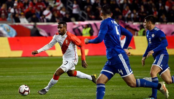 Perú vs. Paraguay: mira las mejores imágenes del amistoso en Estados Unidos. (Foto: AFP)