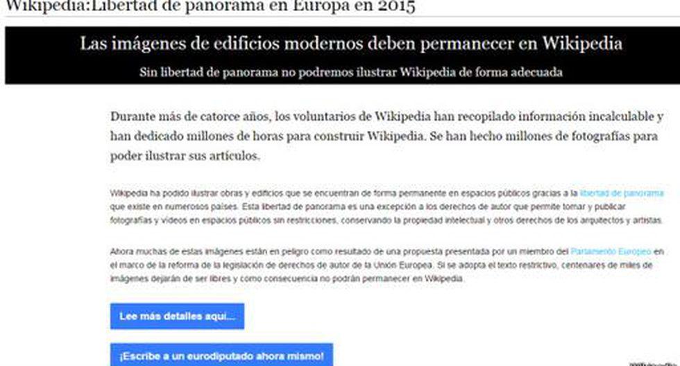 ¿Por qué Wikipedia tiene miedo a perder miles de imágenes?