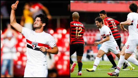 Alexandre Pato anotó golazo pero falló otro de manera increíble