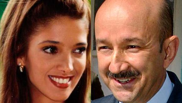 Los rumores de un supuesto romance entre Adela Noriega y Carlos Salinas de Gortari se reavivan luego que se filtró el audio de la exesposa del mandatario Cecilia Occelli (Foto: Televisa / AFP)