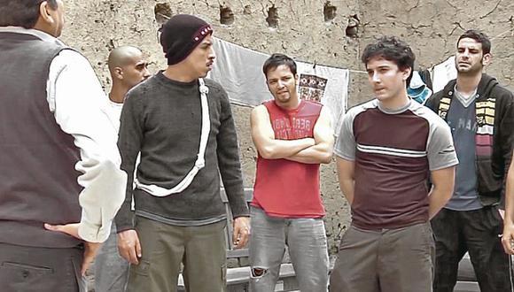 """""""El botadero"""", un capítulo de Conversando con la luna, historia que tematiza la drogadicción y los centros de rehabilitación informales. [Foto: TV Perú]"""