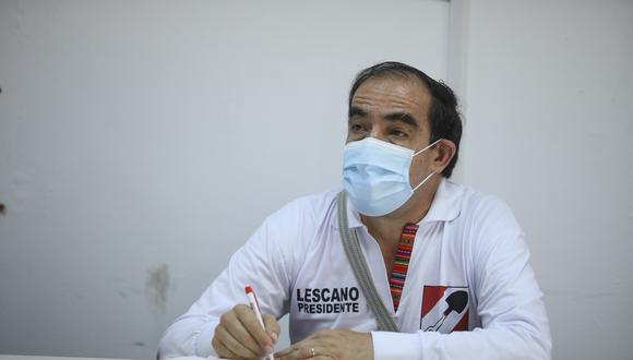 Yonhy Lescano aseguró que Acción Popular no debió llegar al Gobierno por la vacancia. (Foto: GEC)