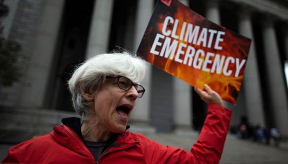 El juicio contra ExxonMobil generó manifestaciones por parte de defensores del medio ambiente. (GETTY IMAGES)