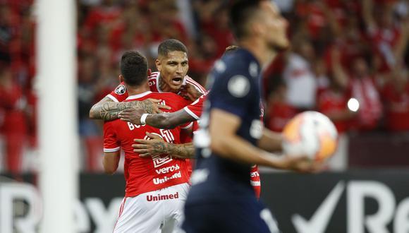 Internacional enfrentó a la Universidad de Chile por el pase a la tercera ronda de la Copa Libertadores (AP Photo/Edison Vara)