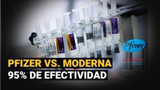 Pfizer vs. Moderna: diferencias entre las vacunas más efectivas contra el COVID-19