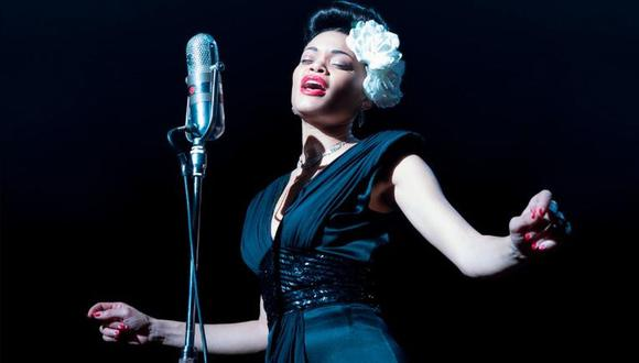 "Andra Day ganó el Globo de Oro 2021 por su rol de la cantante de jazz Billie Holiday en ""The United States vs Billie Holiday"". El filme se estrenó el viernes 26 en la plataforma de streaming Holu. (Foto: Paramount Pictures)"