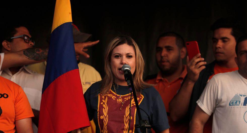 Paulina Facchin, dirigenta del partido político venezolano Voluntad Popular en el Perú. (El Comercio).