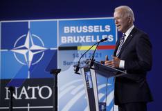 """Biden adelanta que advertirá a Putin sobre """"líneas rojas"""""""