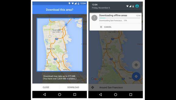 Ya se puede consultar Google Maps sin una conexión a Internet