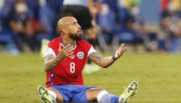 Chile empató 1-1 con Uruguay. REUTERS/Rodolfo Buhrer
