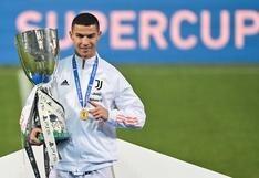 """Cristiano tras ganar la Supercopa de Italia: """"Es importante para ganar confianza"""""""