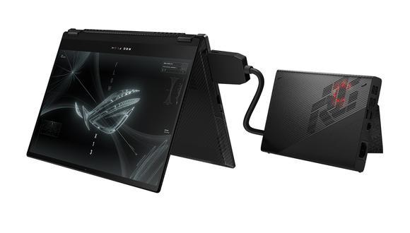 Conoce todos los detalles de la nueva portátil gamer que gira 360 grados: la Asus ROG Flow X13. (Foto: Asus)