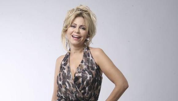 Gisela Valcárcel, conductora de TV. (Foto: archivo El Comercio)