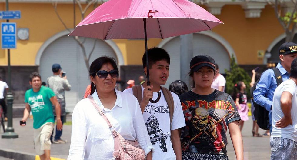 El índice máximo UV en Lima alcanzará el nivel 15 hoy lunes, según pronósticos del Senamhi. (Foto: GEC)