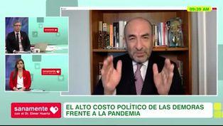 """Dr.Huerta: """"Las políticas públicas deberían basarse en la ciencia"""""""