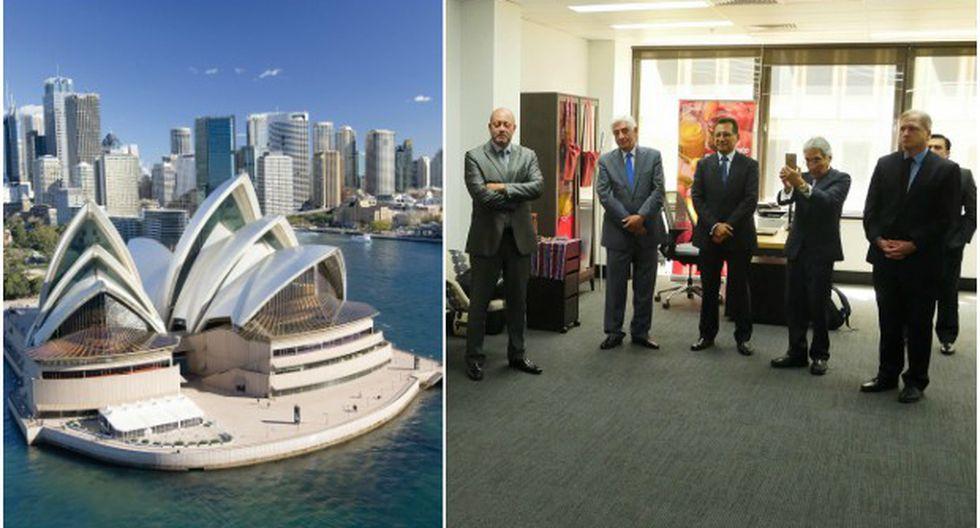 La nueva oficina comercial del Perú en Australia (OCEX) se encuentra instalada en Suite 301, 105 Pitt Street, Sydney NSW 2000.