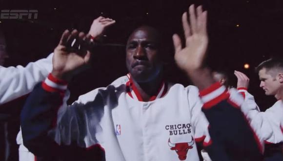 """Netflix estrena el documental """"The Last Dance"""" sobre los de los Chicago Bulls de Michael Jordan este 19 de abril. (Foto: Captura de video)"""