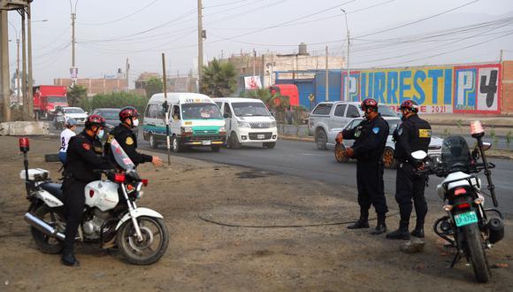 Policía Nacional informa de la situación de las carreteras en el país tras levantamiento de paro de transportistas de carga   Foto: El Comercio