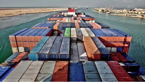 El Canal de Suez, en Egipto, une el Mediterráneo y el mar Rojo. (SCIENCE PHOTO LIBRARY).