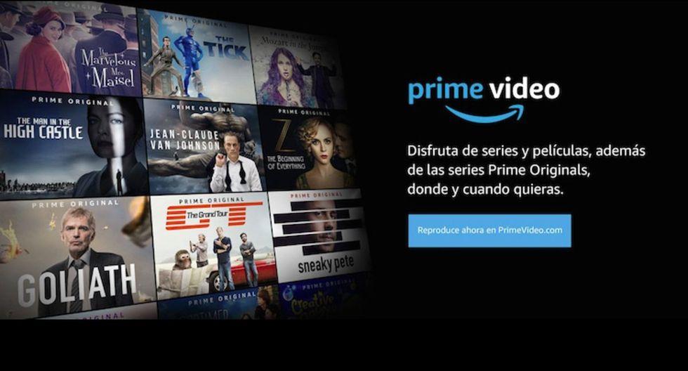 Amazon Prime Video ofrece pruebas gratis por 30 días sin ningún tipo de código. (Foto: Amazon Prime Video)