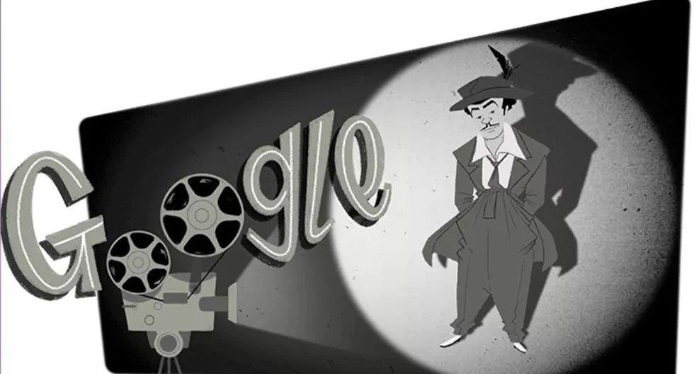 El comediante mexicano Germán Valdés 'Tin Tan' fue seleccionado por Google para ser la imagen de un doodle animado el 19 de septiembre de 2019, en honor a su fecha de nacimiento. (Captura de pantalla)