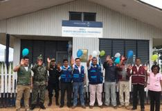 Ucayali: Migraciones inaugura puesto de control fronterizo en poblado de Breu
