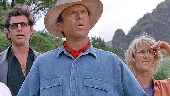 """Sam Neill, Laura Dern y Jeff Goldblum, protagonistas de """"Jurassic Park"""", regresarán en """"Jurassic World 3"""". (Foto: Universal Studios)"""