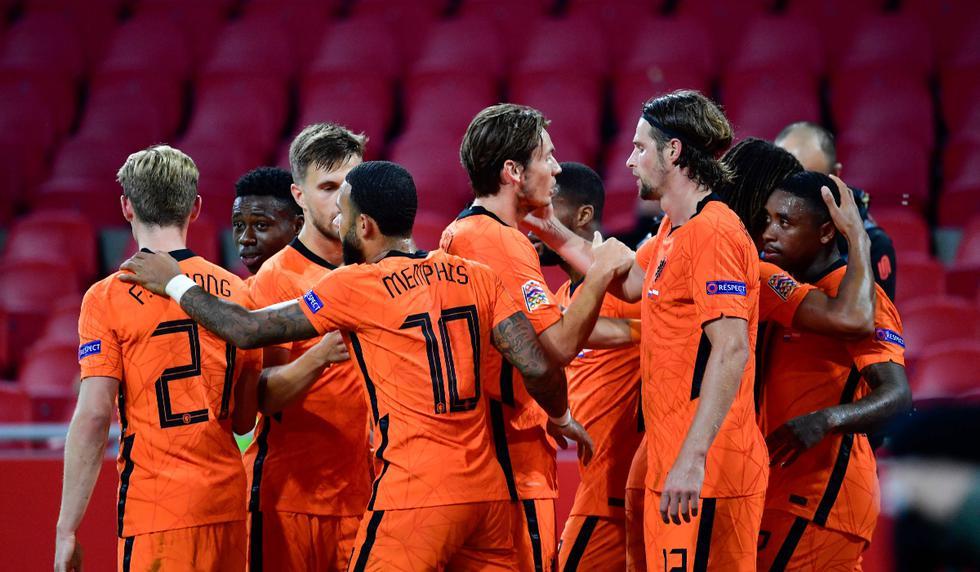 Holanda vs. Polonia: las imágenes del partido   Foto: AFP