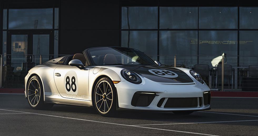 El precio del Porsche 911 Speedster con el paquete Heritage Edition supera los US$ 366 mil. Lógicamente, este ejemplar alcanzará una cifra mucho mayor en la subasta. (Fotos: Porsche).