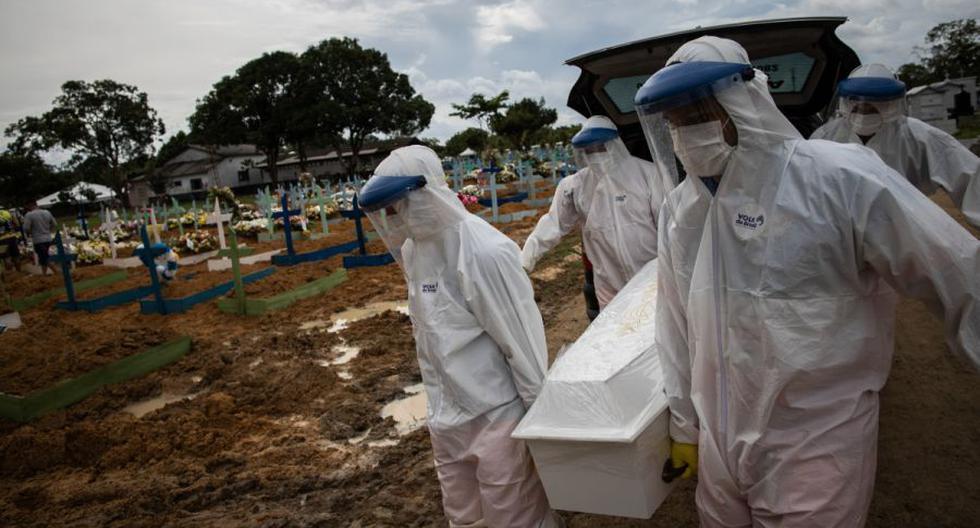 Coronavirus en Brasil   Últimas noticias   Último minuto: reporte de infectados y muertos hoy, sábado 27 de febrero del 2021. (Foto: EFE/Raphael Alves/Archivo).