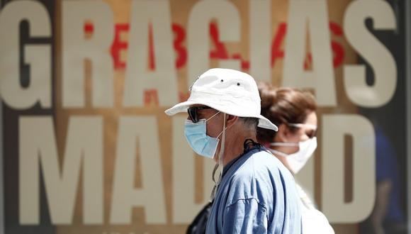 Madrid tiene una tasa de contagio de 700 casos por cada 100.000 habitantes, más del doble que a nivel nacional, y las autoridades habían decidido confinar parcialmente a buena parte de la región.  (Foto: EFE)