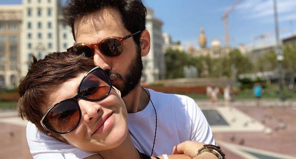 Anahí de Cárdenas presentó a su pareja con romántica fotografía. (Foto: Instagram)