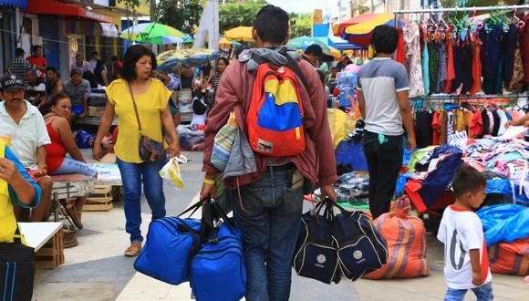 De acuerdo con últimas cifras de Migraciones, hasta la fecha han ingresado 820 mil ciudadanos venezolanos a Perú. (Foto: El Comercio)