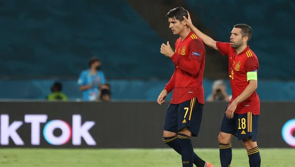 España no conoce de triunfos en la Eurocopa 2021   Foto: EFE