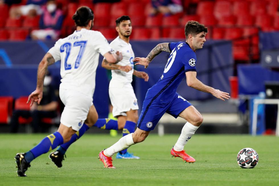 Chelsea enfrentó al Porto por la Champions League