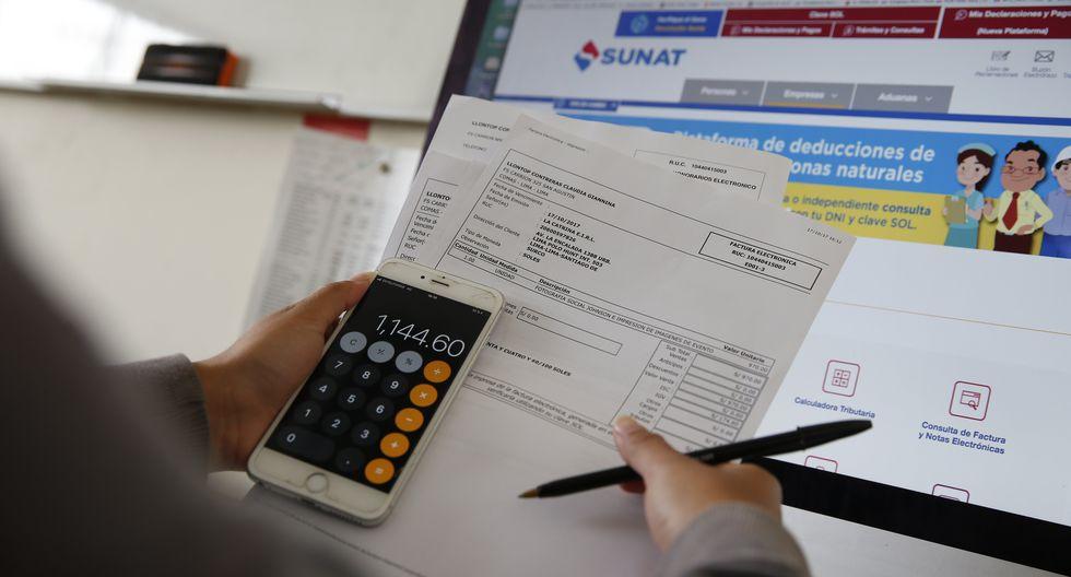 El aumento de la recaudación por impuesto a la renta de personas naturales en 10.8% se debió a la evolución favorable del empleo formal. (Foto: GEC)