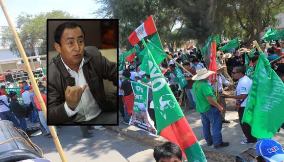 Marcha a favor de Gregorio Santos pretende llegar a Lima