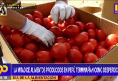 Día de la alimentación: La mitad de los alimentos producidos en Perú terminan como desperdicios