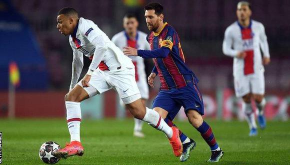 PSG habría tomado una importante decisión entorno a Kylian Mbappé y Lionel Messi. (Foto: BBC)