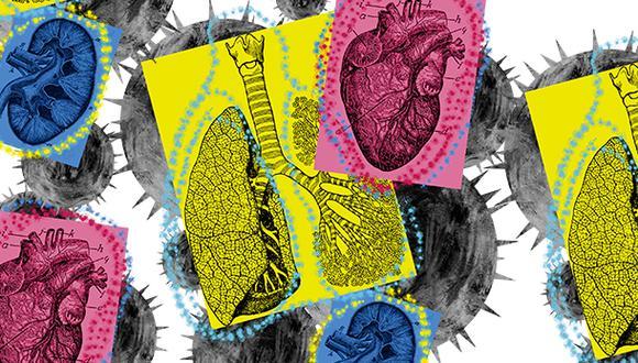 El número de donaciones y trasplantes de órganos ha disminuido sustancialmente durante la pandemia. (Ilustración Giovanni Tazza)