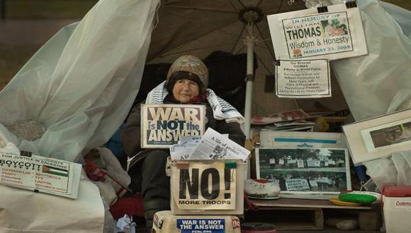 Muere la mujer que protestó por 35 años frente a la Casa Blanca