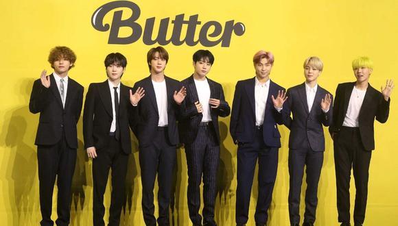 """BTS estrenó hace unas semanas """"Butter"""", su nuevo sencillo que ya tiene más de 315 millones de reproducciones en YouTube.(Foto: Dong-A Ilbo / AFP)"""