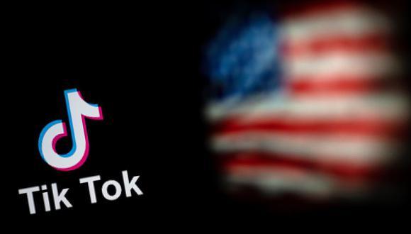 TikTok pidió el miércoles a la justicia de Estados Unidos que impidiera la entrada en vigor este domingo de la orden de Donald Trump, que prohibiría a los estadounidenses descargarse la aplicación y acceder a actualizaciones. (Foto: NICOLAS ASFOURI / AFP).