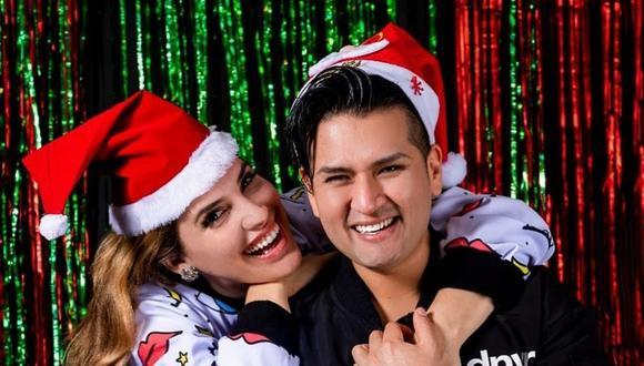 Cassandra Sánchez dedica romántico mensaje a su novio Deyvis Orosco. (Foto: @casemaze)