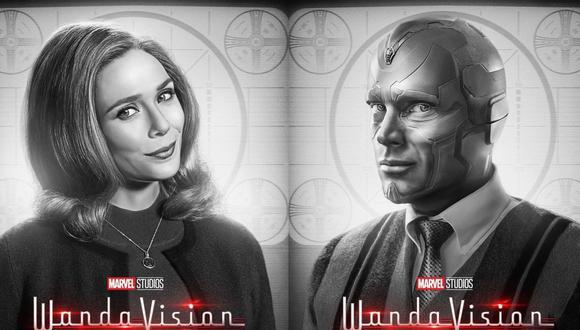 """""""WandaVision"""" se puede ver todos los viernes a través de Disney +. (Foto: Disney +)"""