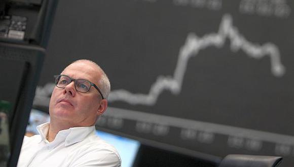 El índice DAX 30 de Frankfurt perdió 1.14% este martes. (Foto: AFP)
