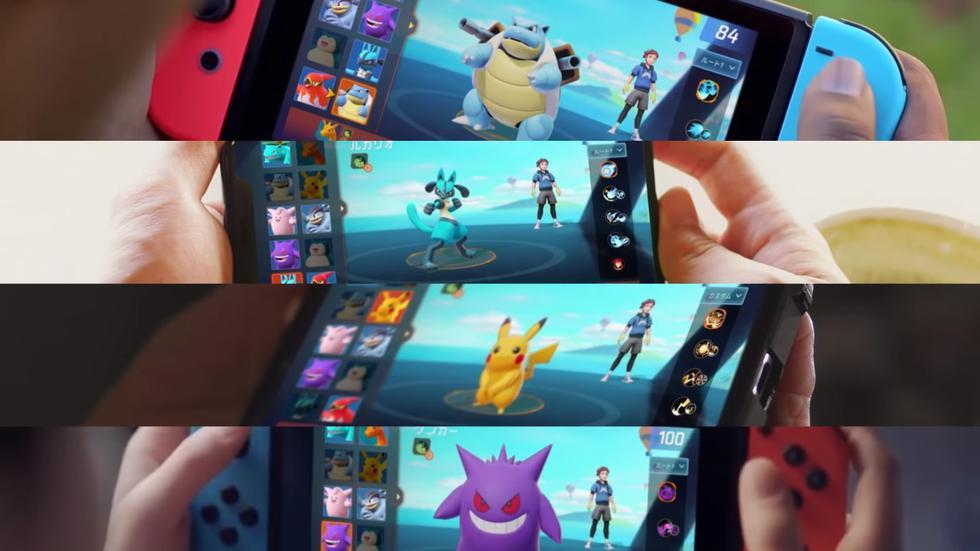 Pokémon Unite ofrecerá partidas multijugador cinco contra cinco al estilo League of Legends. (Foto: Difusión)