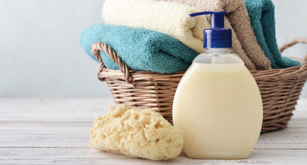 Reemplaza las barras de jabón por jabón líquido. No solo le dará un mejor aspecto a tu lavadero sino que ayudará a mantenerlo más limpio. (Foto: Shutterstock)