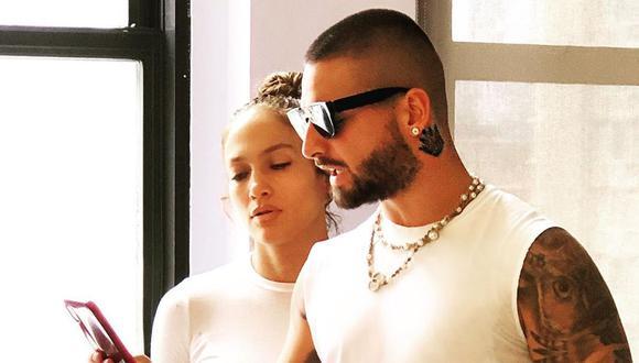 """Maluma anunció que está """"grabando una bomba"""" junto a Jennifer Lopez. (Foto: Instagram)"""