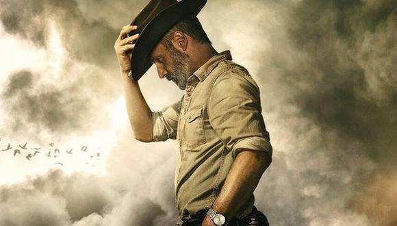 """""""The Walking Dead"""". Rick Grimes (Andrew Lincoln) está presente en la serie desde el primer episodio. Foto: Fox."""